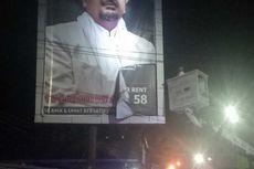 Seputar Penertiban Poster Bergambar Rizieq Shihab, Tak Berizin hingga Alasan Keamanan
