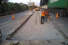 Jasa Marga Perbaiki Lajur Tengah Tol Jakarta-Cikampek hingga Kamis