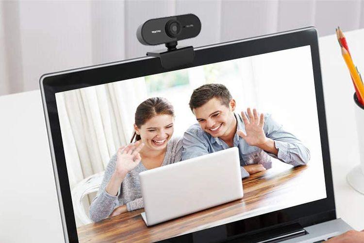 Ilustrasi webcam.