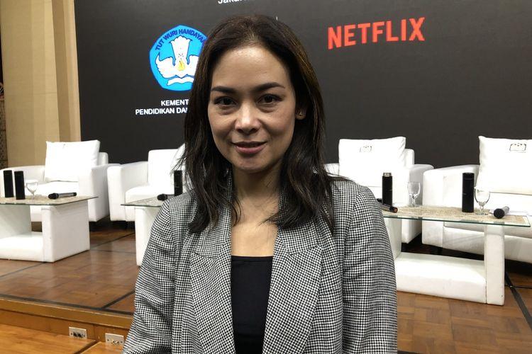 Sheila Timothy saat ditemui di Gedung di Kemendikbud, Jalan Jenderal Sudirman, Kamis (9/1/2020).