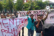 Kunjungan Sandiaga dan Zulkifli di UMS Diprotes Mahasiswa
