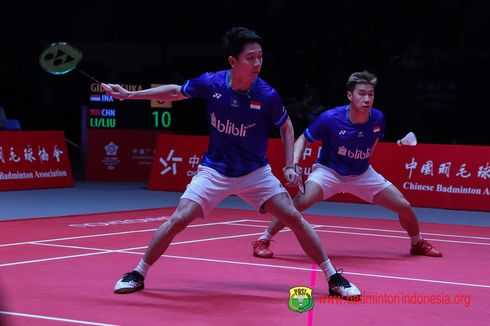Malaysia Masters 2020, Marcus/Kevin Tembus Perempat Final