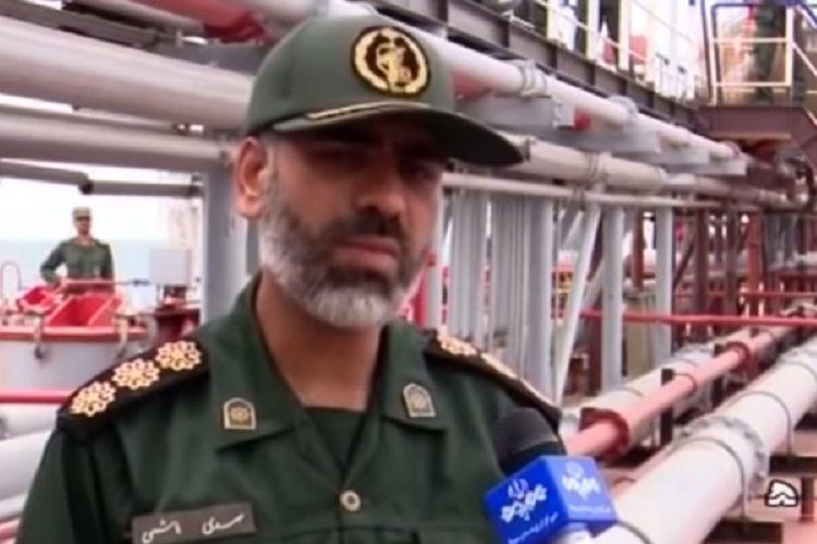 Laksamana Muda Alireza Tangsiri, Komandan Angkatan Laut Garda Revolusi Iran.