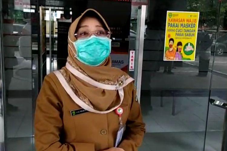 Kepala Dinas Kesehatan Kaltim, dr Padilah Mante Runa saat ditemui di Kantor Dinas Kesehatan Kaltim Jalan Abdul Wahab Sjahranie, Samarinda, Kaltim, Senin (25/8/2020).   SAMARINDA, KOM