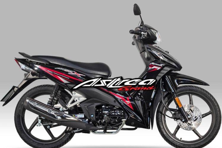 Nama Astrea Grand digunakan oleh Honda Yunani