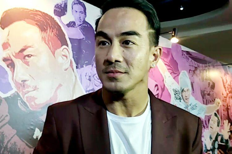 Artis peran Joe Taslim saat ditemui di gala premiere film Hit & Run di Lamoda Plaza Indonesia, Tanah Abang, Jakarta Pusat, Rabu (29/5/2019).