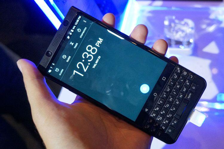 BlackBerry resmi memasarkan Android BlackBerry KeyOne di Indonesia, Kamis (23/11/2017).