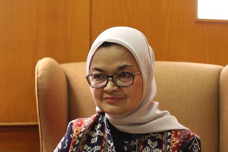 Kepala Badan Pengawasan Obat dan Makanan (BPOM) Penny Kusumastuti Lukito, saat ditemui Kompas.com pada Rabu (14/4/2021) di kantornya.