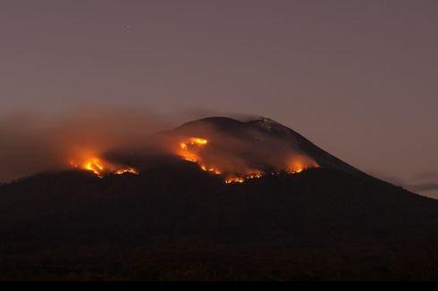 Kebakaran Hutan akibat Erupsi Gunung Ile Lewotolok Belum Bisa Dipadamkan, Ini Kendala yang Dihadapi