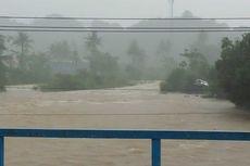 Hujan Sejak Siang, Kota Padang Digenangi Banjir hingga 50 Cm