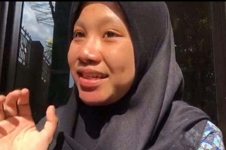 Siti Zahratul Chosiyah menjadi mahasiswa termuda Untirta lewat jalur SNMPTN 2021.