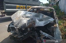 Fakta Dua Buronan Perampok Ditangkap Setelah Dikejar hingga Mobil Terbakar