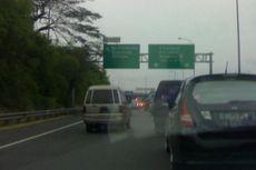 Ada Peningkatan Arus Kendaraan Masuk Jakarta di Ruas Tol Jagorawi