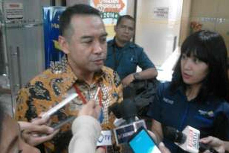 Anggota Komisi VI Dewan Perwakilan Rakyat Teguh Juwarno di gedung KPK, Jakarta, Rabu (14/12/2016)