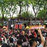 Ratusan Pekerja Seni Demo di Depan DPRD Gresik, Tuntut Diizinkan Beraktivitas