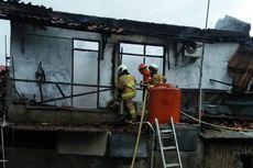 Kompor Lupa Dimatikan, Rumah di Lubang Buaya Terbakar