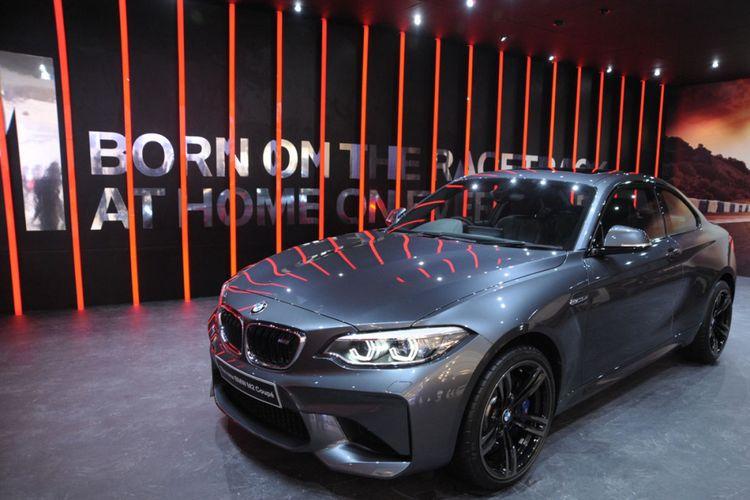 BMW M2 Coupe terbaru di GIIAS 2018.