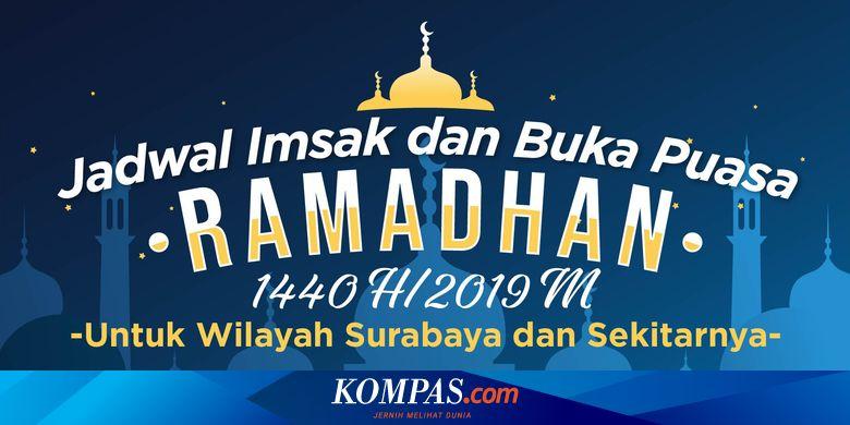 Jadwal Imsak Dan Buka Puasa Di Surabaya Selama Ramadhan 1440 H