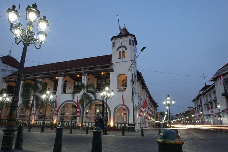 Jaga Kenyamanan Pengunjung di Kota Lama, Pemkot Semarang Gelar Car Free Night