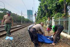Seorang Pria Tewas Tertabrak Kereta di Jagakarsa Saat Hendak Menyeberang Rel