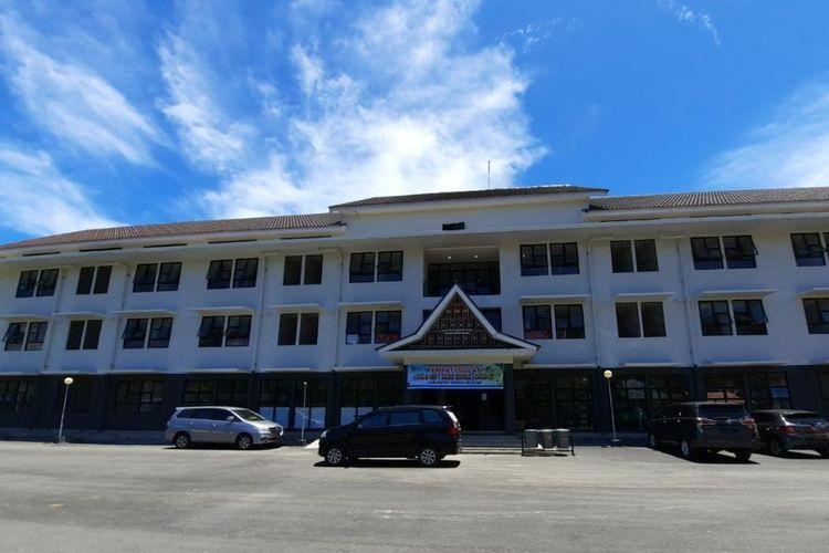 Rusunawa Muaro Painan, Sumatera Barat dijadikan lokasi karantina pasien Covid-19.