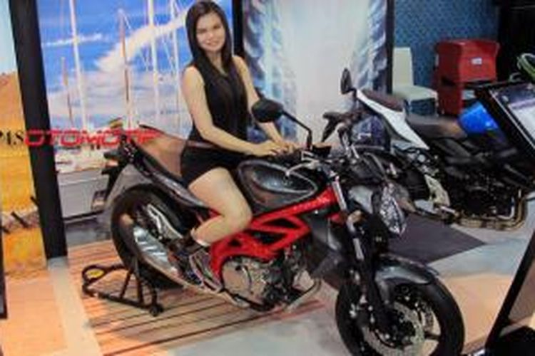 Suzuki Gladius mejeng di Jakarta Fair 2014