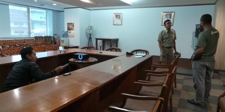 Ruang kerja Tim Gubernur untuk Percepatan Pembangunan (TGUPP) DKI Jakarta.