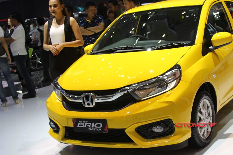 All new Honda Brio Satya di GIIAS 2018