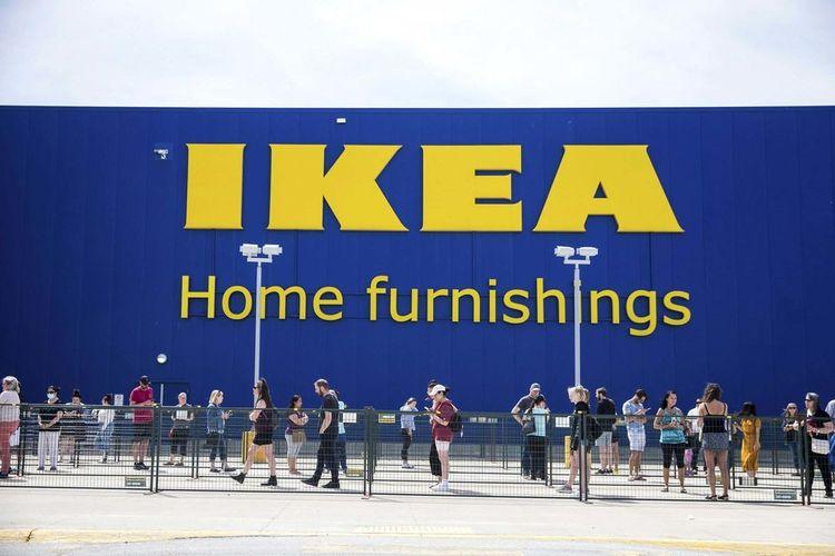 Ilustrasi IKEA Store