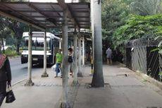Jalur Lambat Jalan Sudirman Akan Dihilangkan, Trotoar Dilebarkan hingga 9,5 Meter