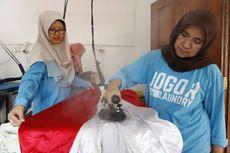 Pakai Gas Bumi PGN, Bogor Laundry Lebih Hemat