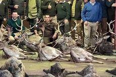 Pemburu Spanyol Bantai 540 Rusa dan Babi Hutan di Portugal, Publik Marah