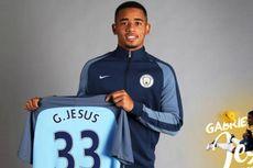 Manchester City Resmi Perkenalkan Gabriel Jesus