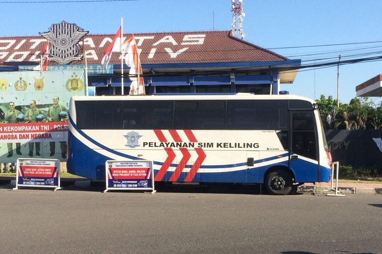 Layanan Satpas keliling di provinsi Yogyakarta
