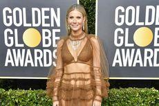 Gwyneth Paltrow Pakai Gaun Transparan di Karpet Merah Golden Globe
