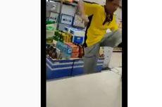 Pria Mengamuk dan Rusak Barang Minimarket di Pamulang, Polisi: Pelaku ODGJ