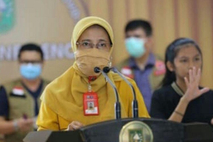 Kepala Dinas Kesehatan Provinsi Riau Mimi Yuliana Nazir.