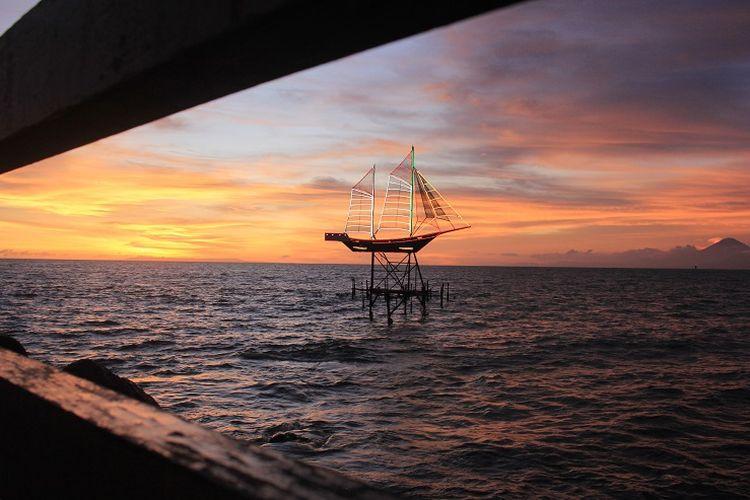 Ilustrasi NTB - Pantai Ampenan di Mataram.