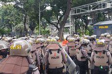 750 Personel Diturunkan untuk Amankan Demonstrasi Buruh di Patung Kuda
