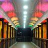 Tak Lagi Kumuh, Jembatan Penyeberangan Senen Tampil Cantik dengan LED