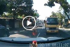 Viral Truk yang Lawan Arah Lalu Diadang Mobil, Ternyata Milik Dinas PUPR Klaten