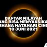 INFOGRAFIK: Daftar Wilayah yang Dapat Menyaksikan Gerhana Matahari Cincin 10 Juni 2021