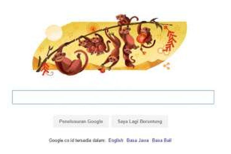 Google rayakan Imlek lewat doodle