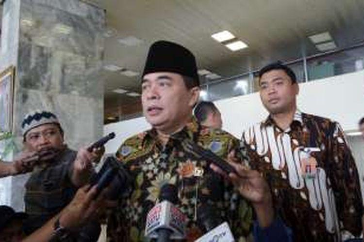 Ketua DPR RI Ade Komarudin di Kompleks Parlemen, Senayan, Jakarta, Rabu (22/6/2016)