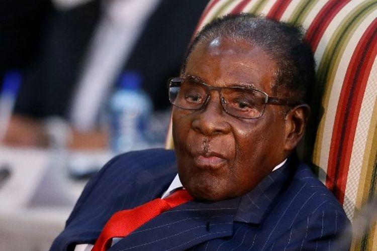 Mantan Presiden Zimbabwe Robert Mugabe.