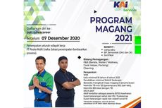 Anak Usaha PT KAI Buka Program Magang 2021, Cek Syaratnya di Sini!