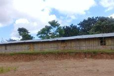 Belum Ada Gedung, SMP Negeri Ini Gunakan Bangunan Darurat Berlantai Tanah