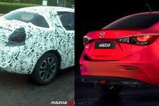 Mazda2 Sedan Terbaru Ketahuan Sedang Dites