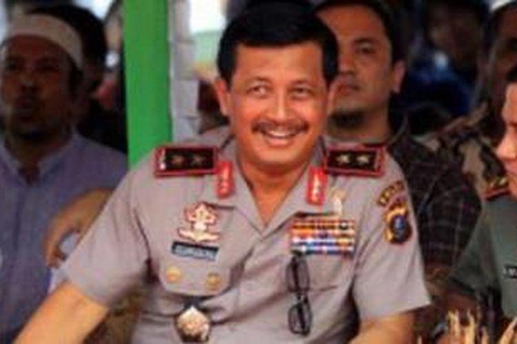 Kepala Badan Pemeliharaan Keamanan (Kabaharkam) Polri Komisaris Jenderal (Pol) Oegroseno ketika menjabat sebagai Kapolda Sumatera Utara Irjen Pol Oegroseno. Oegroseno kini dipastikan duduk di kursi Wakapolri.