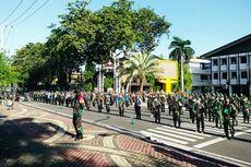 Di Banjarmasin, Tak Pakai Masker Saat Masuk Pasar Diberi Hukuman Fisik